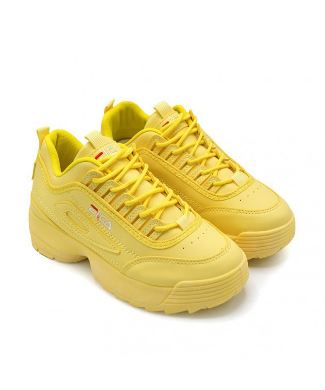 Pantofi Sport De Dama Eica Galbeni - Trendmall.ro
