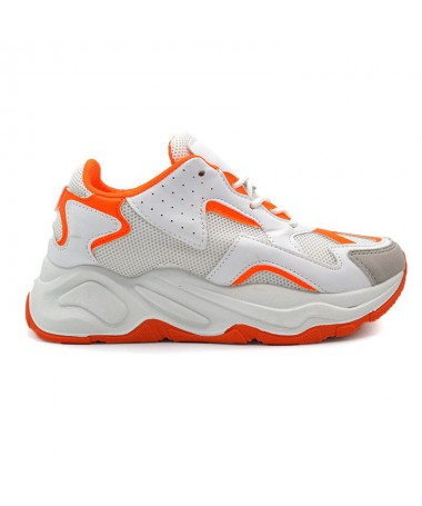 Pantofi Sport De Dama Captur Portocalii - Trendmall.ro