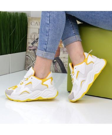 Pantofi Sport De Dama Captur Galbeni - Trendmall.ro