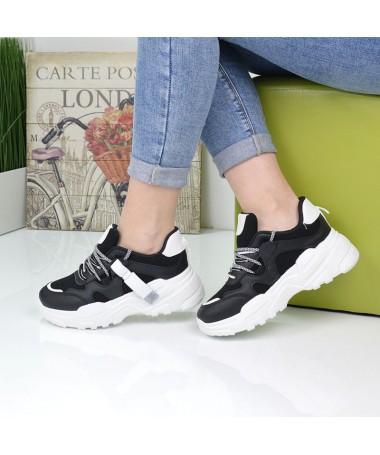 Pantofi Sport De Dama Napo Negri - Trendmall.ro