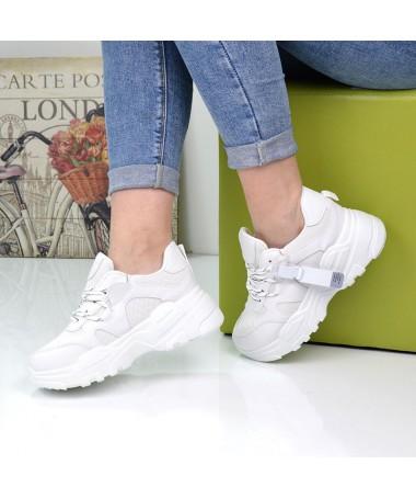 Pantofi Sport De Dama Napo Albi - Trendmall.ro