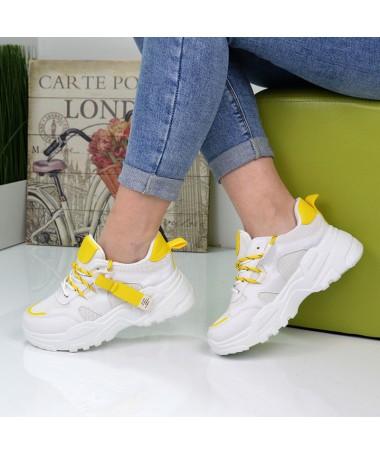 Pantofi Sport De Dama Napo Galbeni - Trendmall.ro
