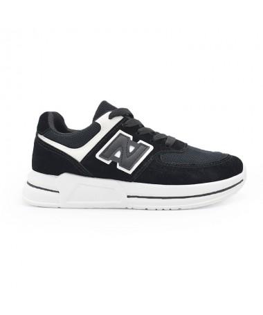 Pantofi Sport De Dama Nuba Negri - Trendmall.ro