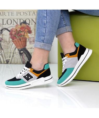 Pantofi Sport De Dama Nuba Verzi - Trendmall.ro