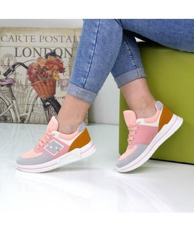 Pantofi Sport De Dama Nuba Roz - Trendmall.ro