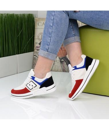 Pantofi Sport De Dama Nuba Albi - Trendmall.ro