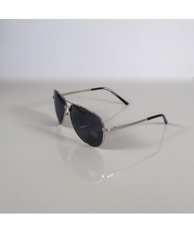 Ochelari De Soare Aviator Kollin Negri Cu Argintiu Unisex - Trendmall.ro