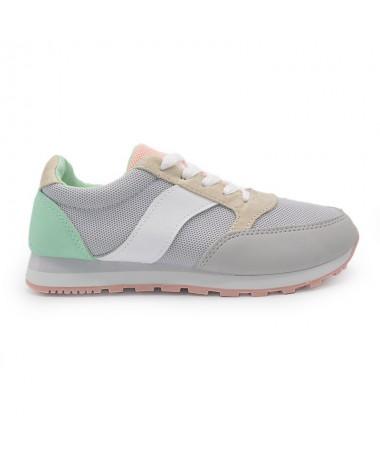 Pantofi Sport De Dama Noah Gri - Trendmall.ro