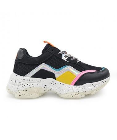 Pantofi Sport De Dama Maxi Negri - Trendmall.ro