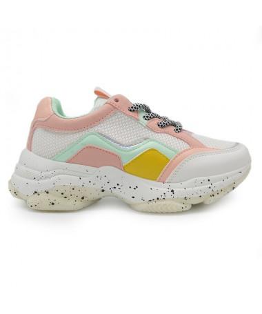 Pantofi Sport De Dama Maxi Albi - Trendmall.ro