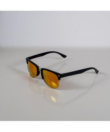 Ochelari De Soare Clubmaster Lizz Unisex Roz - Trendmall.ro