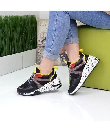 Pantofi Sport De Dama Amara Negri - Trendmall.ro