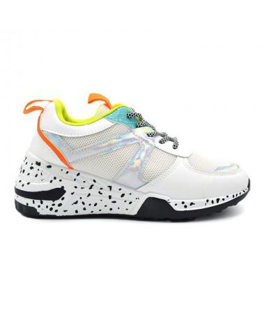 Pantofi Sport De Dama Amara Albi - Trendmall.ro