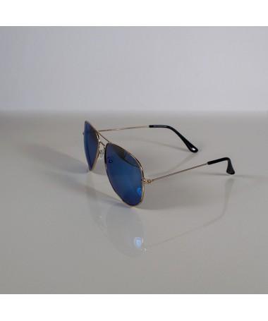 Ochelari De Soare Aviator Rasell Albastri Unisex - Trendmall.ro
