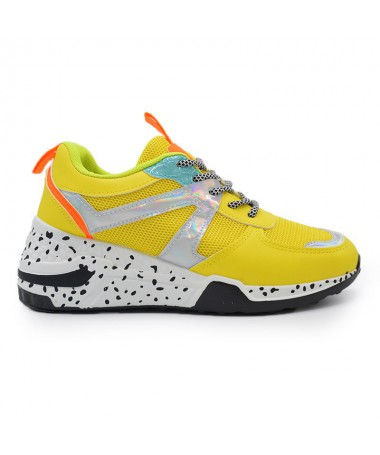 Pantofi Sport De Dama Amara Galbeni - Trendmall.ro