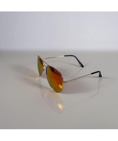 Ochelari De Soare Aviator Rasell Portocalii Unisex - Trendmall.ro