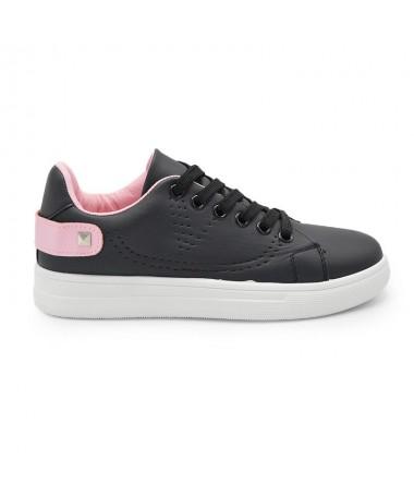 Pantofi Sport De Dama Haili Negru Cu Roz - Trendmall.ro