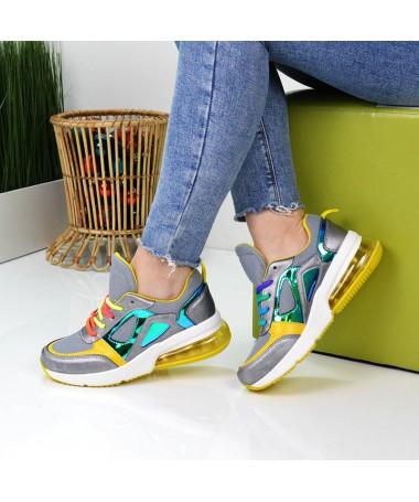 Pantofi Sport De Dama Lad Gri - Trendmall.ro