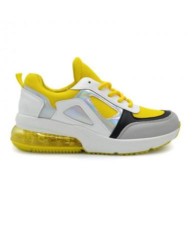 Pantofi Sport De Dama Lad Galben - Trendmall.ro