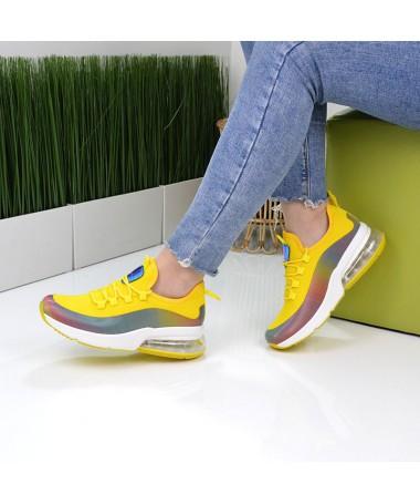 Pantofi Sport De Dama Mad Galbeni - Trendmall.ro
