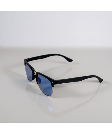 Ochelari De Soare Clubmaster Lizz Unisex Blue - Trendmall.ro