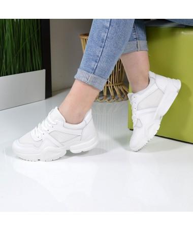 Pantofi Sport De Dama Bibo Albi - Trendmall.ro