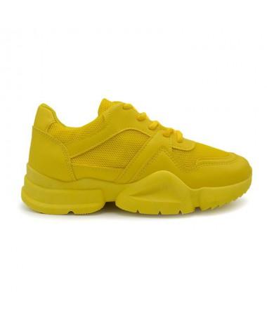 Pantofi Sport De Dama Bibo Galbeni - Trendmall.ro