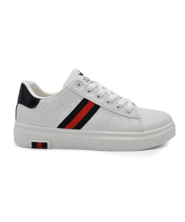 Pantofi Sport De Dama Rian Alb cu Negru - Trendmall.ro