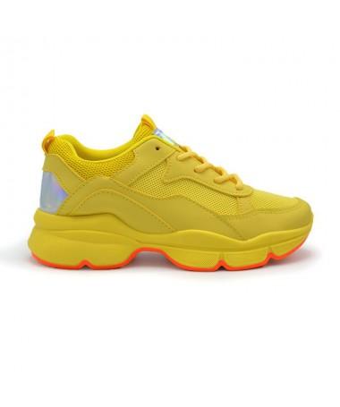 Pantofi Sport De Dama Casio Galbeni - Trendmall.ro