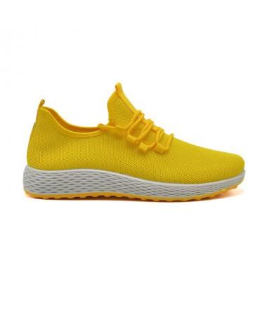 Pantofi Sport De Barbati Abe Galbeni - Trendmall.ro