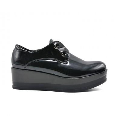 Pantofi Casual De Dama Ezi Negri - Trendmall.ro