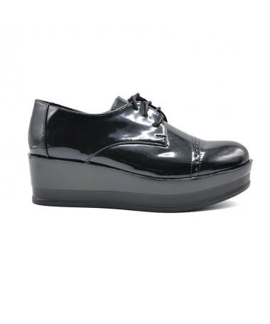 Pantofi Casual De Dama Bold Negri - Trendmall.ro