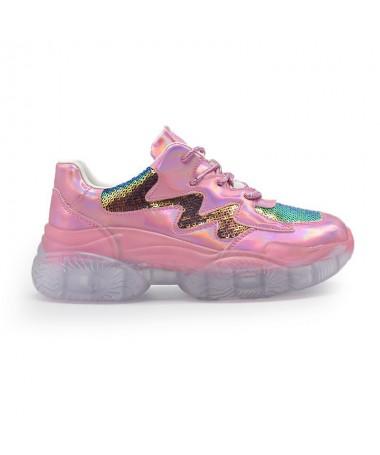 Pantofi Sport De Dama Ilora Roz - Trendmall.ro