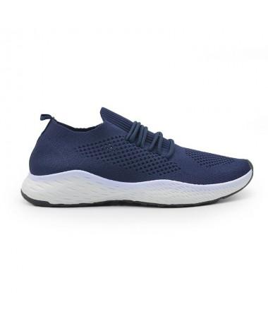 Pantofi Sport De Barbati Den Albastri - Trendmall.ro