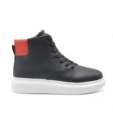Pantofi Sport De Barbati Tuno Negri - Trendmall.ro