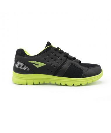 Pantofi Sport De Barbati Beil Negru cu Verde - Trendmall.ro