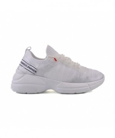 Pantofi Sport De Dama Non Albi - Trendmall.ro