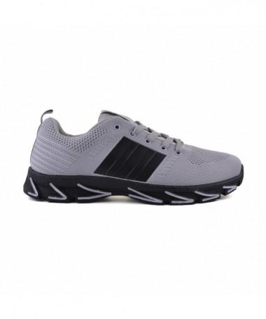 Pantofi Sport De Barbati Dina Gri Cu Negru - Trendmall.ro