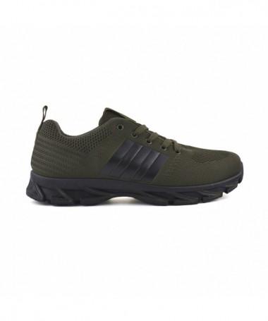 Pantofi Sport De Barbati Dina Verde Cu Negru - Trendmall.ro