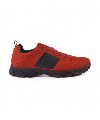 Pantofi Sport De Barbati Dina Rosu Cu Negru - Trendmall.ro