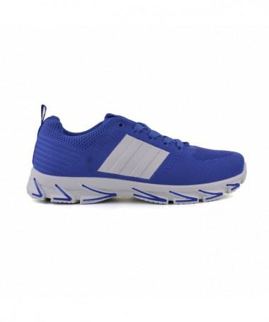 Pantofi Sport De Barbati Dina Albastru Cu Alb - Trendmall.ro