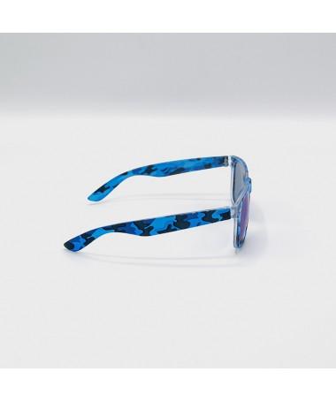 Ochelari De Soare Wayfarer Zicc Albastri Camo Unisex - Trendmall.ro