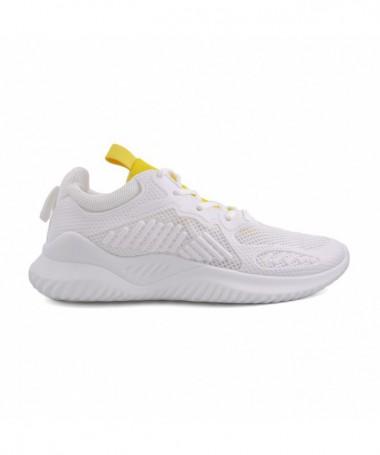 Pantofi Sport De Barbati Berli Alb Cu Galben - Trendmall.ro