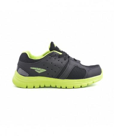 Pantofi Sport De Dama Beil Negru Cu Verde - Trendmall.ro