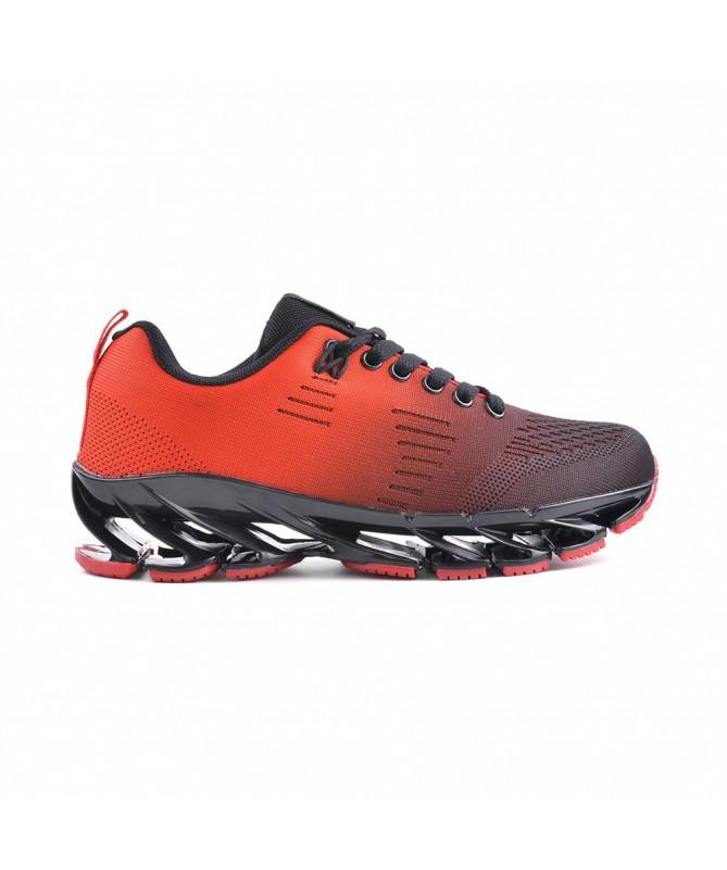 Pantofi Sport De Dama Celi Negru Cu Rosu - Trendmall.ro