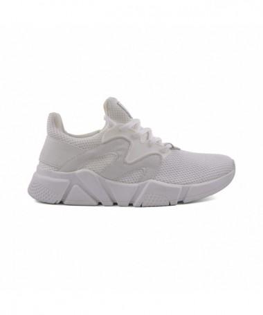 Pantofi Sport De Dama Mai Albi - Trendmall.ro