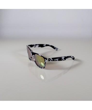 Ochelari De Soare Wayfarer Zicc Camo Cu Lentile Roz Unisex - Trendmall.ro