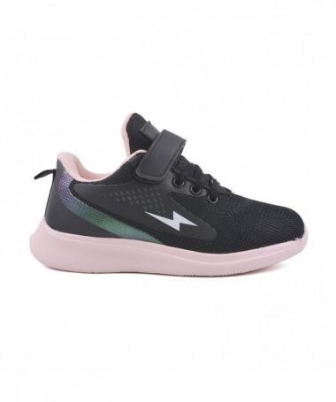 Pantofi Sport De Copii Timi Negru Cu Roz - Trendmall.ro