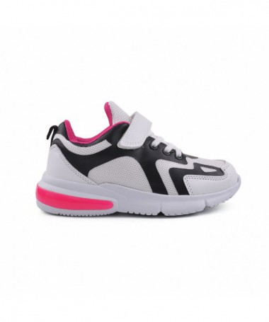 Pantofi Sport De Copii Miti Alb Cu Roz - Trendmall.ro