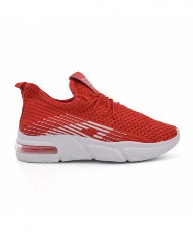Pantofi Sport De Dama Supor Rosii - Trendmall.ro